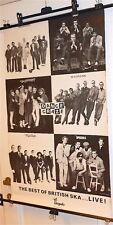 DANCE CRAZE ska mod Crysalis RCA Italy promo poster Madness,Beat,Selecter..1981