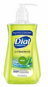 6PK Dial Liquid Hand Soap, Soothing Aloe, 7.5OZ 017000010168YN