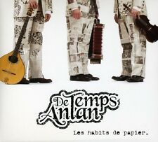 De Temps Antan - Habits de Papier [New CD] Canada - Import