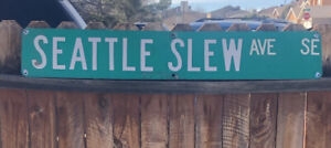 Seattle Slew (retired Street Sign)