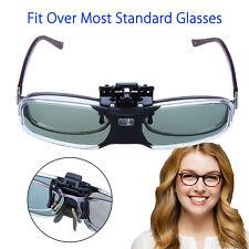 BOBLOV 3D DLP-Link 96-144Hz Active Shutter Glasses USB For BenQ Optoma Projector