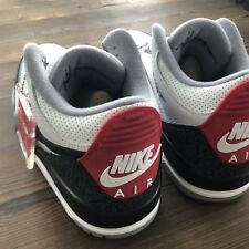 New Nike Air Jordan Retro 3 Tinker Hatfield NRG Size 11.5 US / 10.5 UK Deadstock