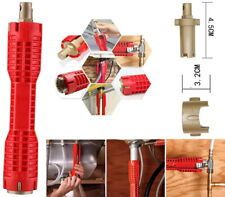 Faucet And Sink Installer, Multifunctional Wrench Plumbing Tool For Red