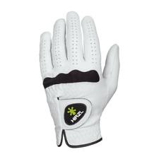 (2) Hirzl Soffft Golf Gloves - More Grip Dry or Wet Mrh Medium for Leftys Logo