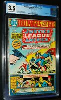 JUSTICE LEAGUE of AMERICA  #114 1974 DC Comics CGC 3.5 VG-