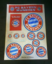 FC Bayern Munchen Stickers Set A4 Size Great For Car/Window /Home Use