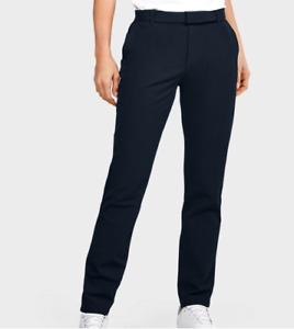 NWT$85 Under Armour Golf Women's Links Pants Navy 1357810-408