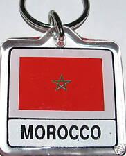 Kingdom of Morocco Flag Key Chain NEW