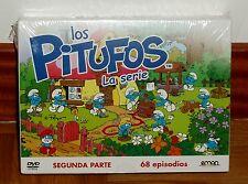 LOS PITUFOS SEGUNDA PARTE 12 DVD PRECINTADO NUEVO ANIMACION SERIES (SIN ABRIR)