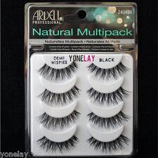 4 Pairs ARDELL Demi Wispies Natural Multipack False Eyelashes Fake Eye Lashes