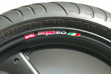 APRILIA RS50 WHEEL RIM STICKERS - COLOURS rs 50 r my06