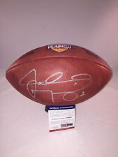 JOHNNY MANZIEL TEXAS A&M AGGIES SIGNED COTTON BOWL GAME FOOTBALL PSA/DNA