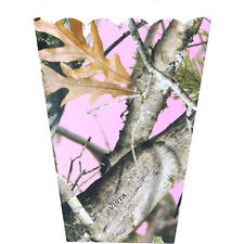HUNTING AND FISHING Pink Camo FAVOR BOXES (8) ~ Birthday Party Supplies Treat