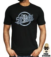 The Strokes Adult Ringer T-Shirt All Sizes /& Colours