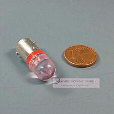 LED GLÜHLAMPE 12V  rot- red  SOCKEL BA9s DIN 49710 - Form J DIN 72601