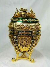 "Retired - Joan Rivers Faberge Imperial Treasures ""Music Box Egg"" Swan Lake - New"