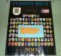 PUERTO RICO 1993 Flags POSTER