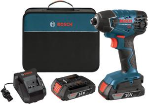 Bosch 25618-02 18V 1/4 In. Hex Impact Driver Kit