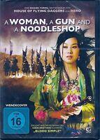 DVD - a Woman a Gun y a Noodleshop - Novela de Suspense Nuevo y Emb. Orig.