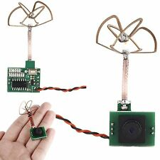 5.8G 48CH 25MW 600TVL Mini Camera Transmitter Antenna For FPV RC Racing Drone