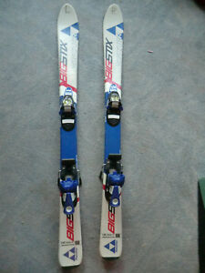 Gebrauchte Kinderski, Kinder Ski von Fischer BIG STX, 108 cm lang