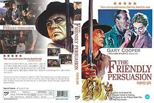 The Friendly Persuasion, 1956 (DVD,All,Sealed,New,Keep Case) Gary Cooper
