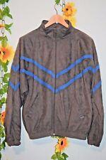 vintage 80s decathlon  zigzag velour jacket hipster