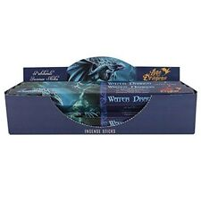 Pack Of 6 Water Dragon Incense Sticks By Anne Stokes - Patchouli Von Elements