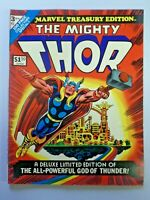 Vintage Large Comic Book Marvel Treasury Edition The Mighty Thor 1974