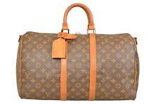 Louis Vuitton Monogram Keepall 45 Bandouliere Travel Bag M41418 - YG00756
