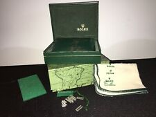 Vintage Rolex Box, Complete With Outter Box, Pillow, Tag, Clean Cloth