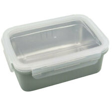 Stainless Steel Lunch Box Bento Food Container Student School Blue single