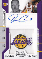 2010-11 Playoff Contenders Patches #149 Derrick Caracter RC Auto
