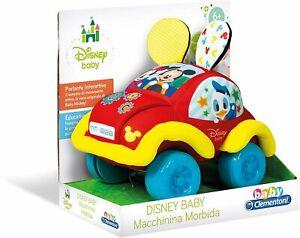 Macchinina Morbida Disney Baby - Clementoni 17210 - 6+ mesi