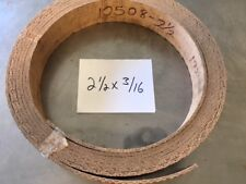 WOVEN BRAKE BAND SHOE MATERIAL 2-1/2X3/16 HI-FRICTION NON ASBESTOS SOLD BY FOOT