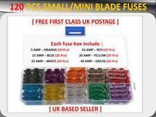 120PCS Ford Auto / Van Mini Auswahl Blade Sicherungen Box 5 10 15 20 25 30 Amp