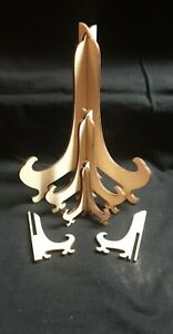Laser cut stands 3mm plywood use for plates, picture, frames ect.