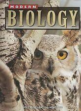 Holt Modern Biology Ser.: Modern Biology by Albert Towle (2000, Hardcover/BOOK