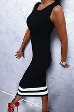 Knielange Damenkleider mit Rundhals-Ausschnitt für Business-Anlässe