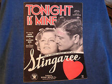 Tonight Is Mine/from the movie Stingaree/Irene Dunne-Richard Dix Cover Photos