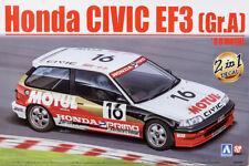 Honda Civic EF3 Gr.A 1988 MOTUL 1:24 Model Kit Bausatz Beemax Aoshima 098301