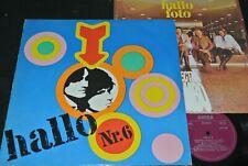 HALLO Nr.6 Omega, Renft, Prudy / DDR 1A/2A Matrix LP 1972 + Poster AMIGA 855336