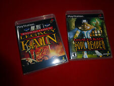 EMPTY Replacement CASES! Blood Omen Soul Reaver Legacy of Kain Playstation 1 PS1