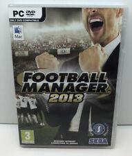 """Football Manager 2013' PC CD-ROM JUEGO SEGA"