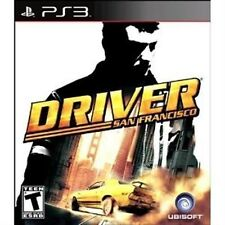 PLAYSTATION 3 PS3 GAME DRIVER SAN FRANCISCO BRAND NEW & FACTORY SEALED