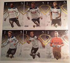 Oro 2016-17 Topps Premier Fútbol Tottenham Equipo Set 6 Tarjetas