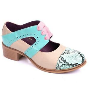 Bed Of Roses By Irregular Choice 'Boston' (N) Low heel Lace Up shoes