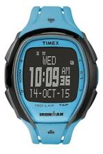 Orologio TIMEX SLEEK 150 LAP TW5M00600 TAP SCREEN Digitale Silicone Azzurro Nero