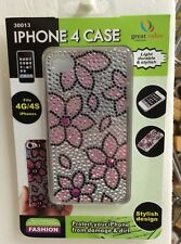 iphone 4 Case New Fits 4g,4s Pink Flowers