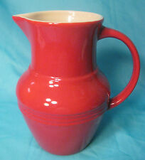 Olive & Thyme - Red Stoneware Pitcher